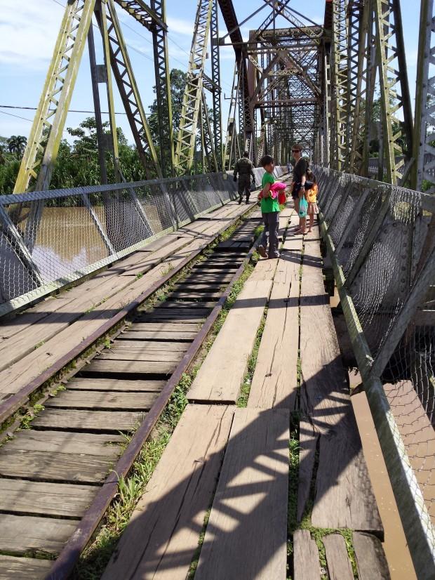 Przekraczamy granicę panamsko-kostarykańską