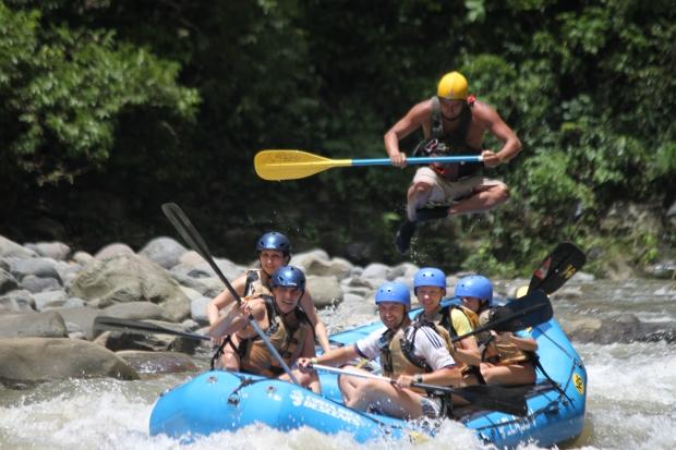 Rafting is fun