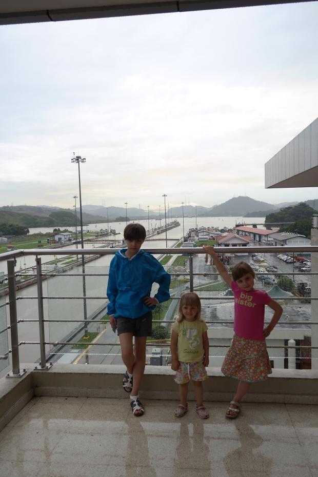 Kanał Panamski - Śluza Miraflores